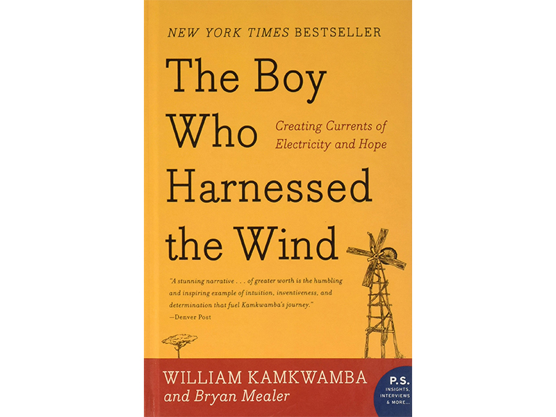 'The Boy' cover showing windmill and tree