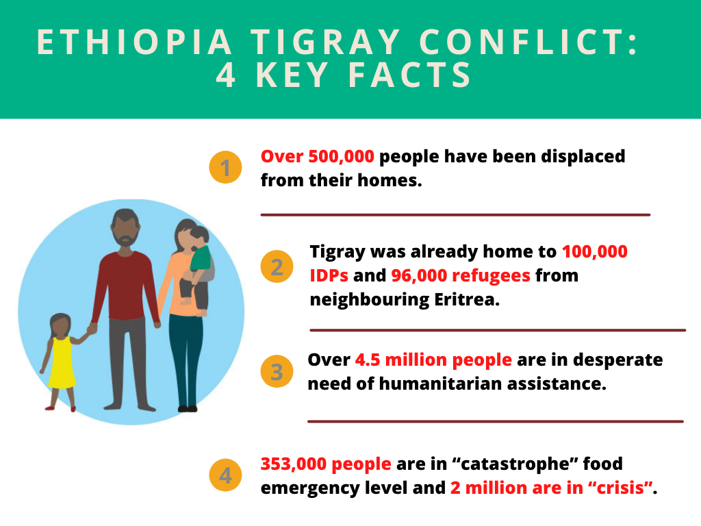 stats on Tigray conflict