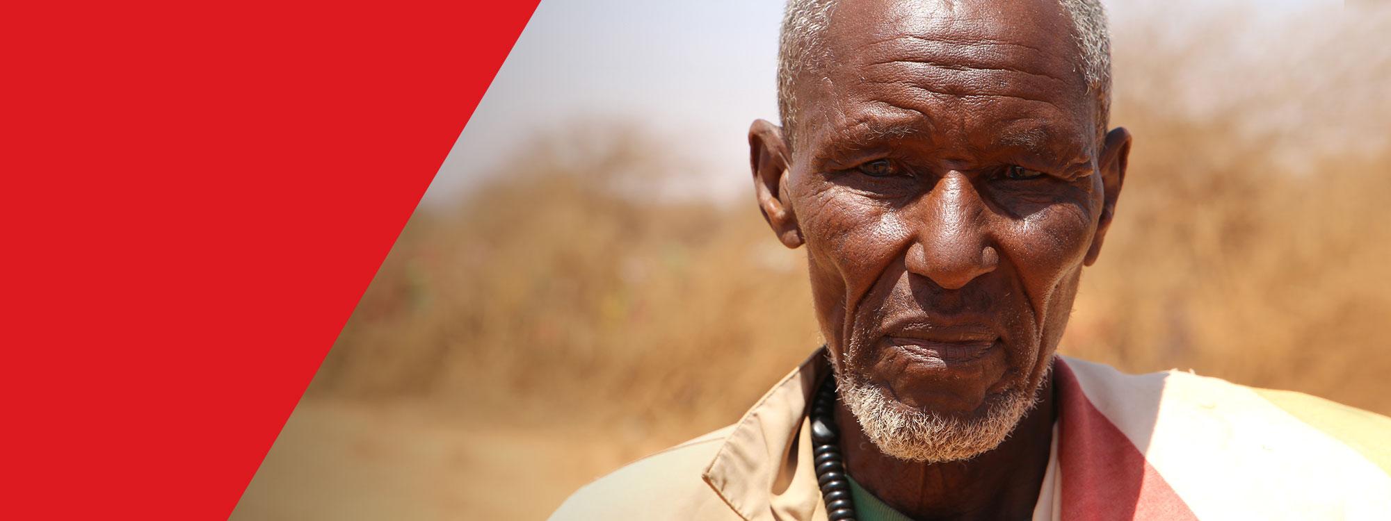 portrait of somali man