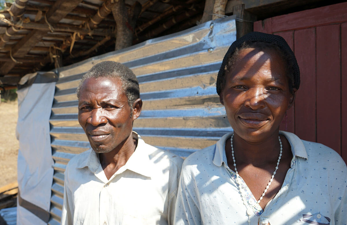 Stephano and Mary saw their Malawi home ripped away by Cylcone Idai